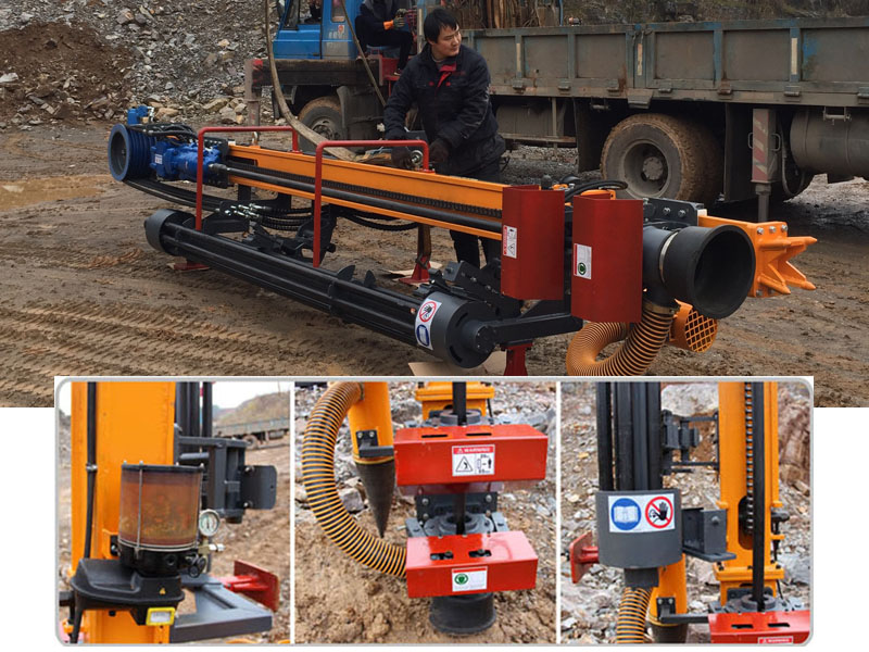 挖机改装液压凿岩机